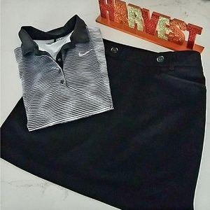 EP Pro golf Skort,  black, size 10